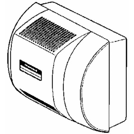 Honeywell Whole House Fan Powered Furnace Humidifier