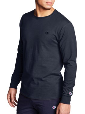 Champion Men's Classic Cotton Long-Sleeve Tee