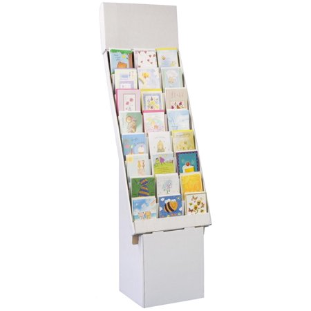 Displays40go Set Of 40 Greeting Card Rack With 40 Display Tiers Enchanting Cardboard Card Display Stand