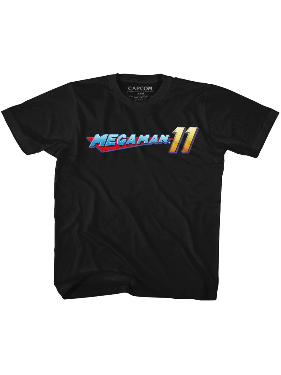 Mega Man Capcom Video Game Mega Logo Toddler T-Shirt Tee