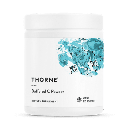 Thorne Research - Buffered C Powder - Vitamin C Supplement with Calcium, Magnesium, and Potassium - 8.15 (Vitamin C Powder Buffered With Calcium And Magnesium)