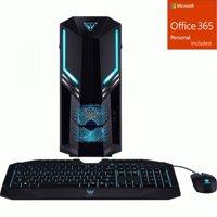 Acer Predator PO3-600 Gaming Desktop Computer - Core i5 i5-9 + Office 365 Bundle