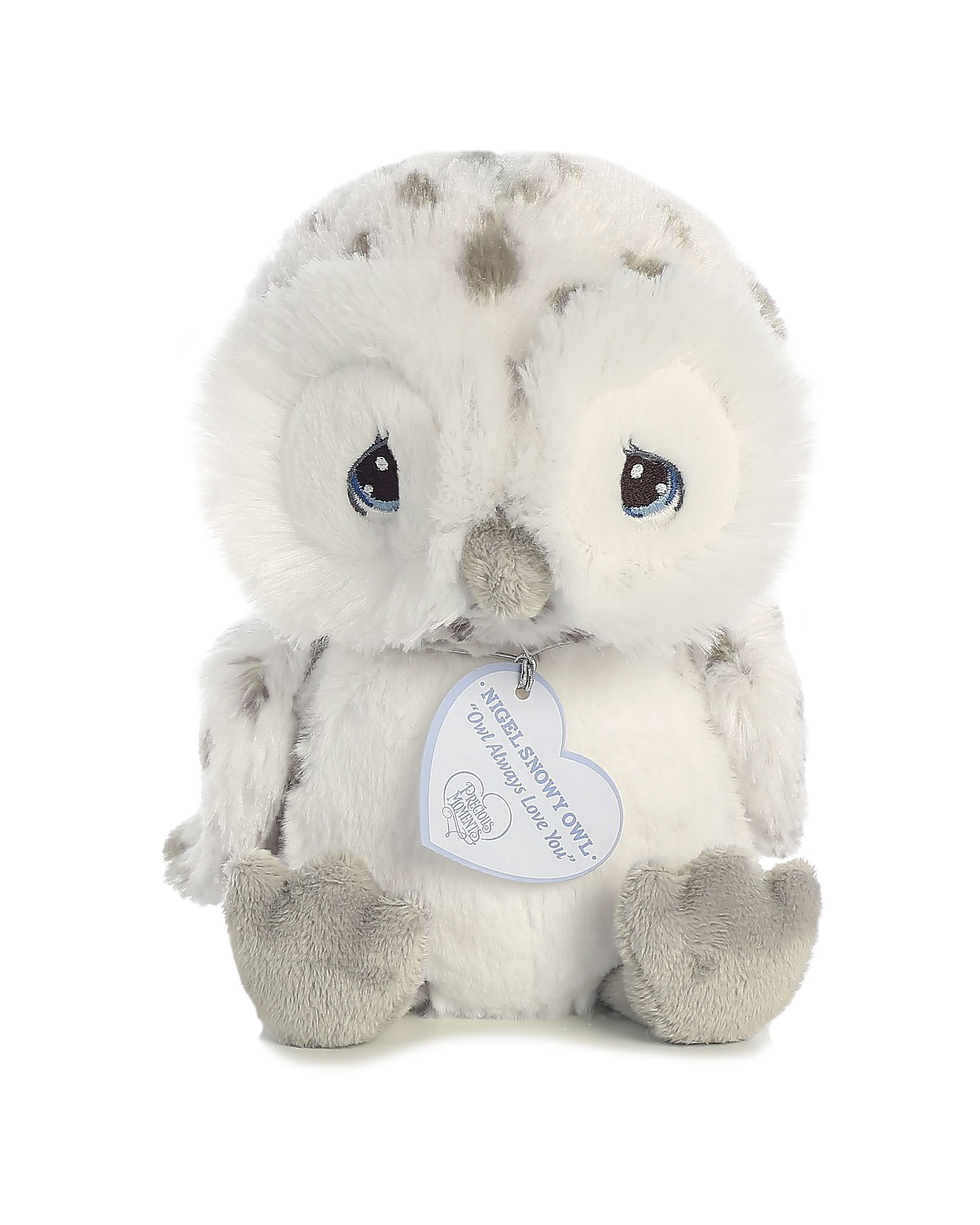 Nigel Snow Owl 8 inch Baby Stuffed Animal by Precious Moments (15712) by Precious Moments