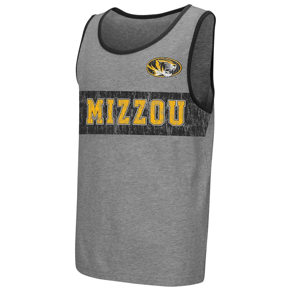 Youth NCAA Missouri Tigers Tank Top (Heather Grey)