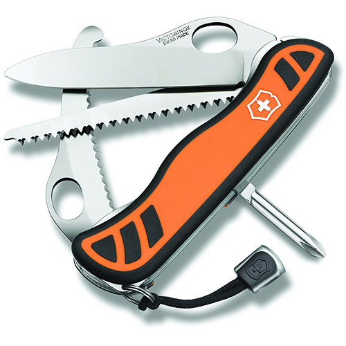 Victorinox Hunter XT Swiss Army Knife, Orange with Black Pouch