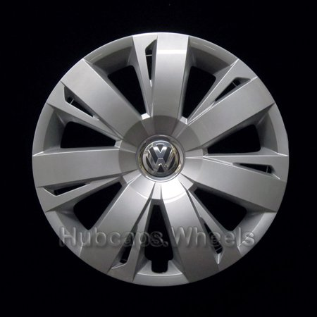 OEM Genuine Hubcap for Volkswagen Jetta 2011-2018 - Professionally Refinished Like New - 16in Replacement Single Wheel Cover ()