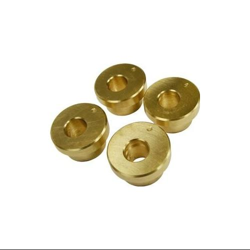 LA Choppers Angled Riser Bushing Kit 5 Degree Angle - Brass Fits 84-13 Harley-Davidson FXST Softail