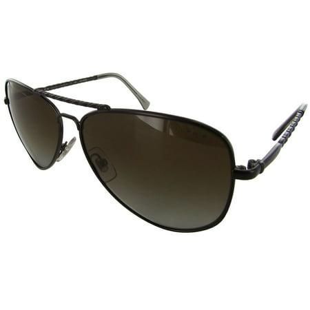 68eddbf645f Ralph By Ralph Lauren - Women RA4107 Polarized Aviator Sunglasses -  Walmart.com