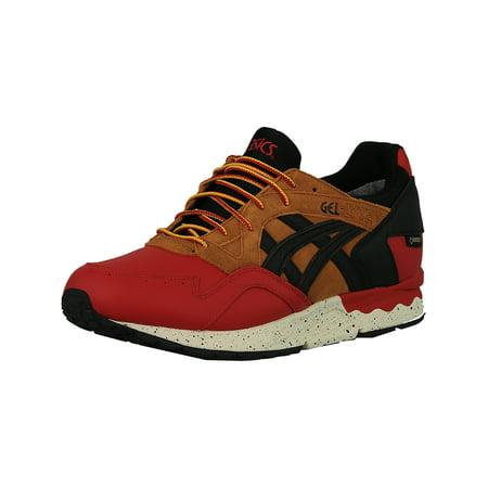- Asics Men's Gel-Lyte V G-Tx Red / Black Ankle-High Leather Running Shoe - 10.5M