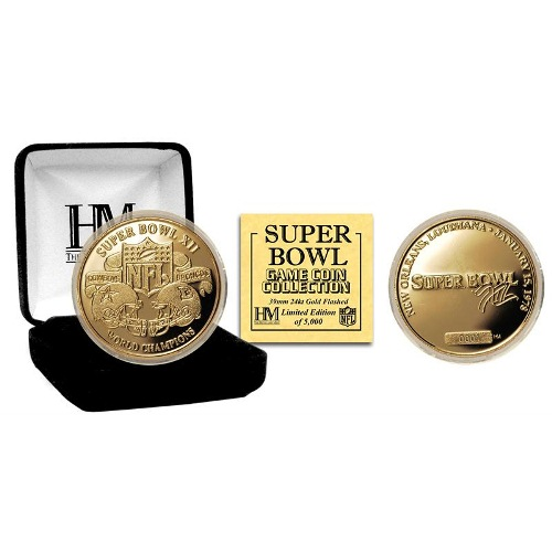 NFL Commemorative Coin by The Highland Mint - Super Bowl XII