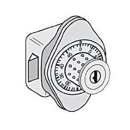 Salsbury Industries 8110 Combination Lock Built In for Heavy Duty Stor