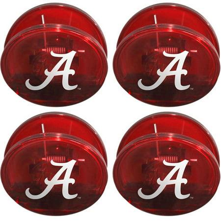 Chip Clip Set - NCAA Alabama Crimson Tide Magnetic Chip Clip Set, 4pk