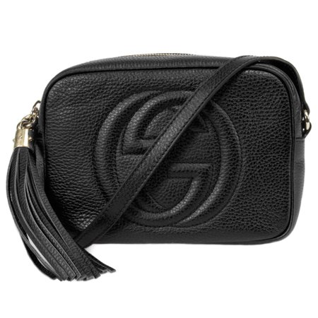 Gucci Soho Disco Bag in Black Leather
