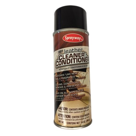 Finish Line Vinyl and Leather Cleaner - With Oil of Mink For Cars or Home Leather Mink Coat