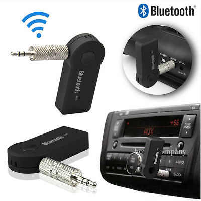 New 3.5mm Bluetooth 3.0Car Home Music Audio Stereo Receiver Adapter Transmitter