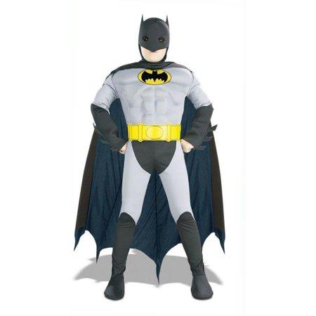 Costumes For All Occasions Ru882211Lg Batman Musc Chest Child Lg](Batman Gauntlets For Sale)