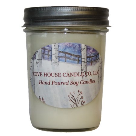 Cove House Candle Co Cucumber Mint Jar Candle