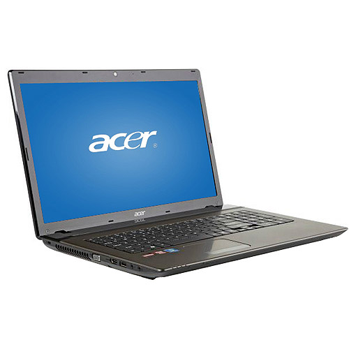 """Acer Refurbished 17.3"""" Aspire AS7560-7183 Laptop PC with AMD A6-3420M Processor and Windows 7 Home Premium"""