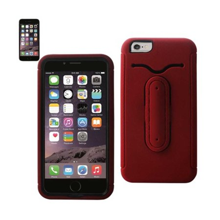 Multifunction hybrid case IPHONE6 PLUS 5.5INCH RED - image 1 of 1