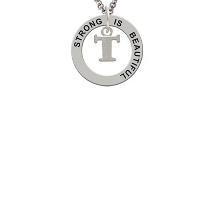 Delight Jewelry Small Greek Letter Tau Strong Is Beautiful