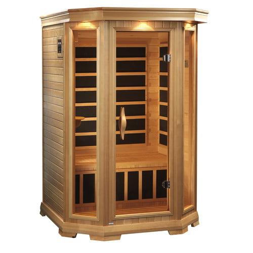 Dynamic Infrared Luxury Series 2 Person FAR Infrared Sauna by Gold Design Saunas