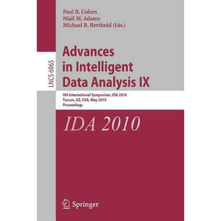 Advances in Intelligent Data Analysis IX : 9th International Symposium, Ida 2010, Tucson, AZ, USA, May 19-21, 2010, Proceedings