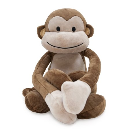 Monkey Squirrel Stuffed Toy - Lambs & Ivy Papagayo Plush Brown Monkey Stuffed Animal