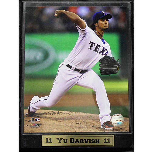 MLB Yu Darvish Photo Plaque, 9x12