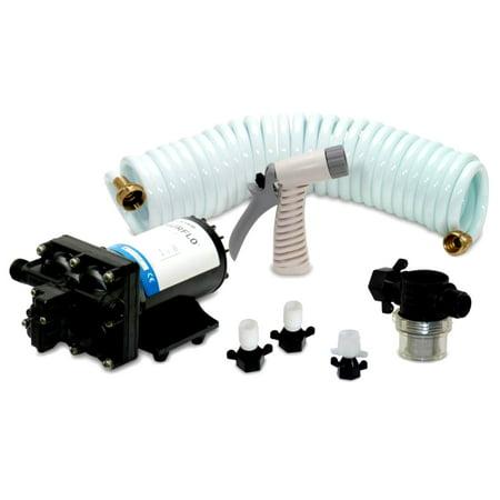 Shurflo 4338-121-E07 Blaster II 12V 3.5 GPM 7.5A Washdown Pump