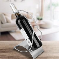 Tebru European Style Stainless Steel Wine Holder Rack Ornament,Wine Holder
