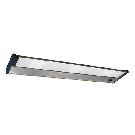 Image of AFX Lighting NLL40SS Frosted Glass LED Undercabinet Light Fixture, Stainless Steel