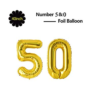 YESON 40 Inch Number 60 Balloons for 60th Birthday Anniversary Party Decoration Supplies,Silver