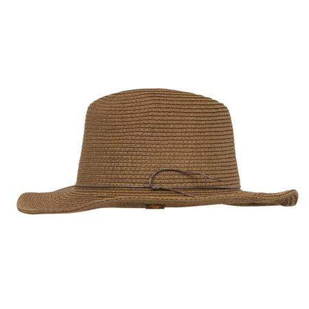 Fedora Straw Women's Sun Hat Ivory Sun Hat
