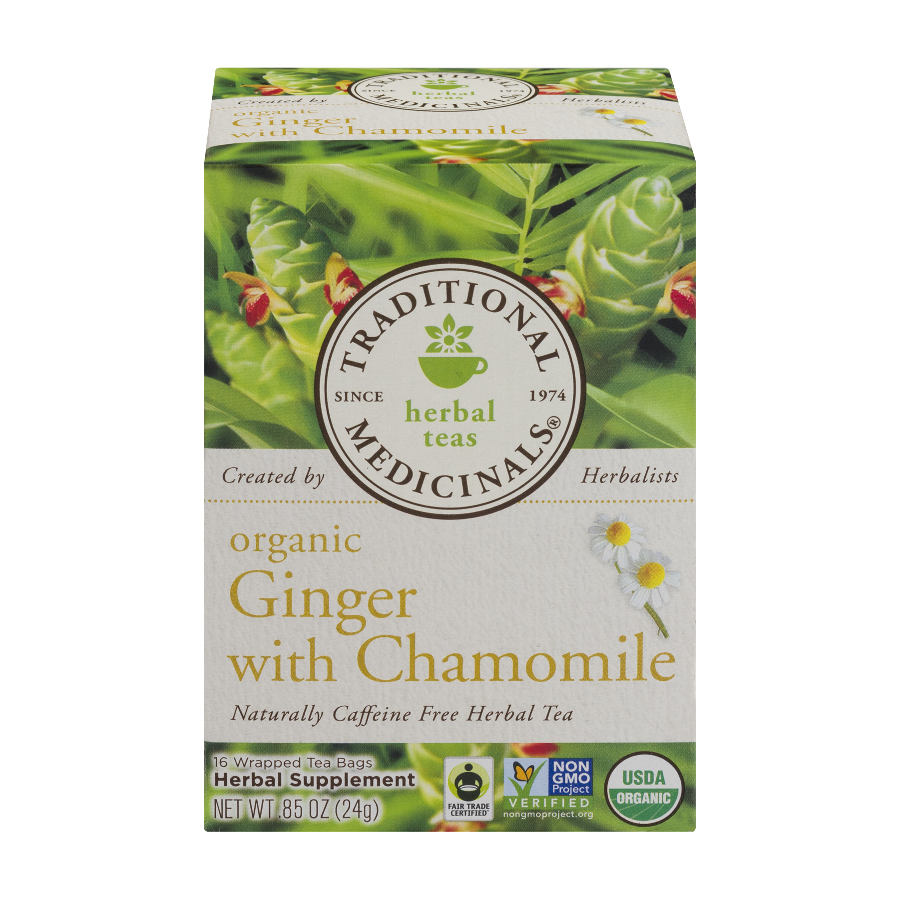 TRADITIONAL MEDICINAL GINGER WITH CHAMOMILE