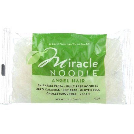 Miracle Noodle Pasta - Shirataki - Miracle Noodle - Angel Hair - 7 oz - case of 6 Angel Hair Noodle Attachment