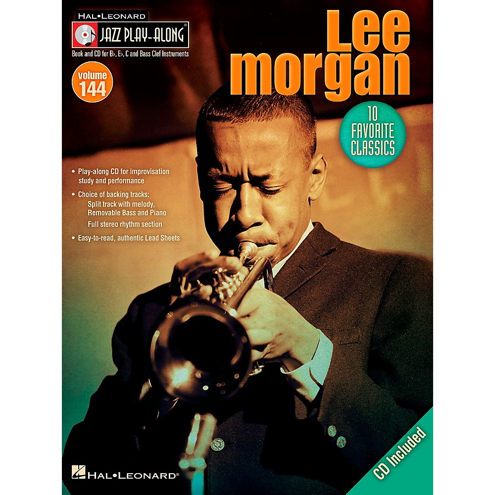 Hal Leonard Lee Morgan - Jazz Play-Along Volume 144 Book/CD