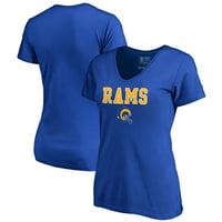 Product Image Los Angeles Rams NFL Pro Line by Fanatics Branded Women s  Vintage Team Lockup V-Neck f256c22d8