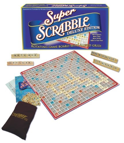 Super Scrabble Deluxe Edition by