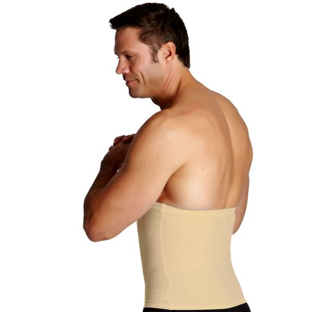 Insta Slim Men's Nude Compression Firming Supportive Posture Belt (XL)