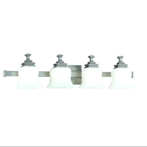 Hudson Valley 5504-SN 4 LIGHT BATH BRACKET