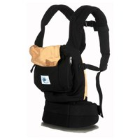 Ergo Baby Carrier Black with Camel Lining Multi-Colored