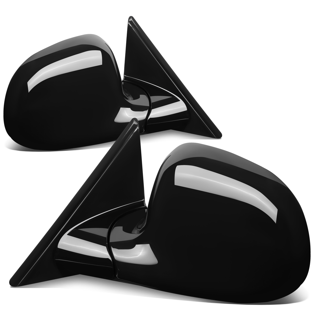 For 1994-1997 Chevy Blazer S10/GMC Jimmy Sonoma Pair Manual Side View Mirror