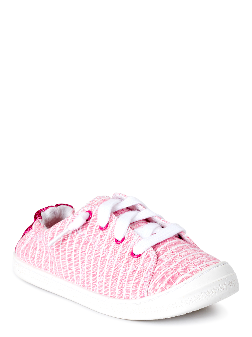 Girls//toddler Size 8 Wonder Nation Sneakers Shoe Silver//Purple//Pink Soles//strap