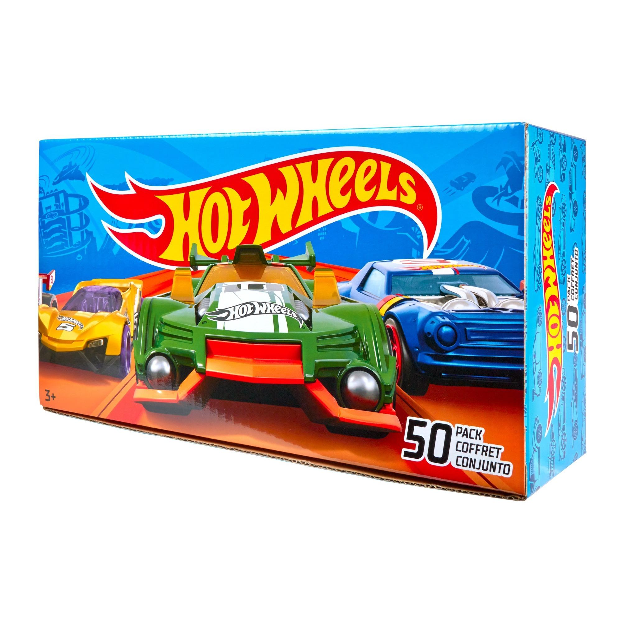Hot Wheels 50 Car Gift Pack (Styles May Vary)