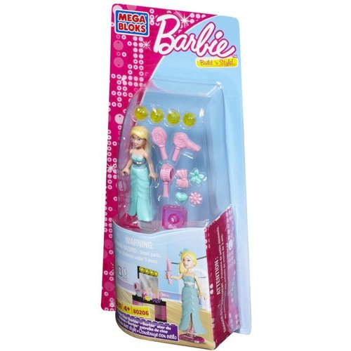 Mega Bloks Barbie Movie Star Barbie Play Set