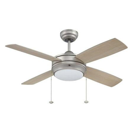 Craftmade LAV44BP4LK Laval 44 in. Indoor Ceiling Fan - Brushed
