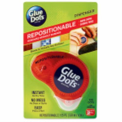 Glue Dots Repositionable Adhesive Dispenser Double Sided Adhesive Dots by