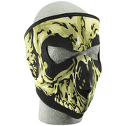 NEOPRENE FACE MASK, SKULL