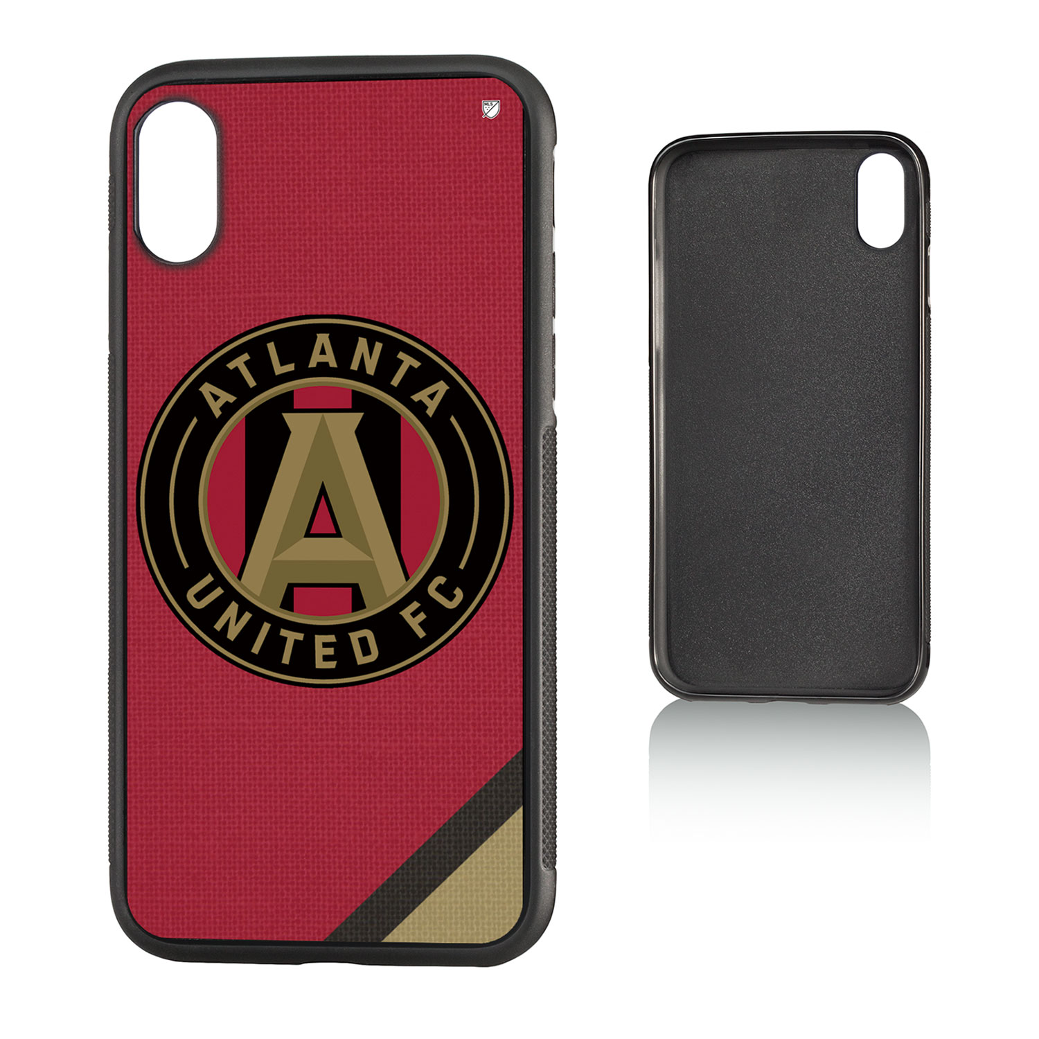 Atlanta United FC ATLUTD Solid Bump Case for iPhone X