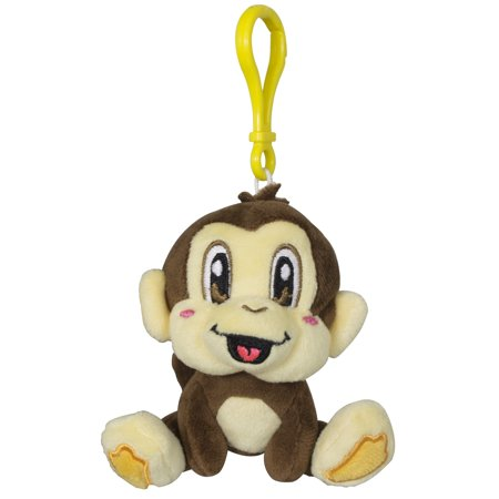 Scentco - Smanimal Backpack Buddies Monkey - Banana Scented 4 Plush Keychain  Clips - Walmart.com 06cc769a62a0
